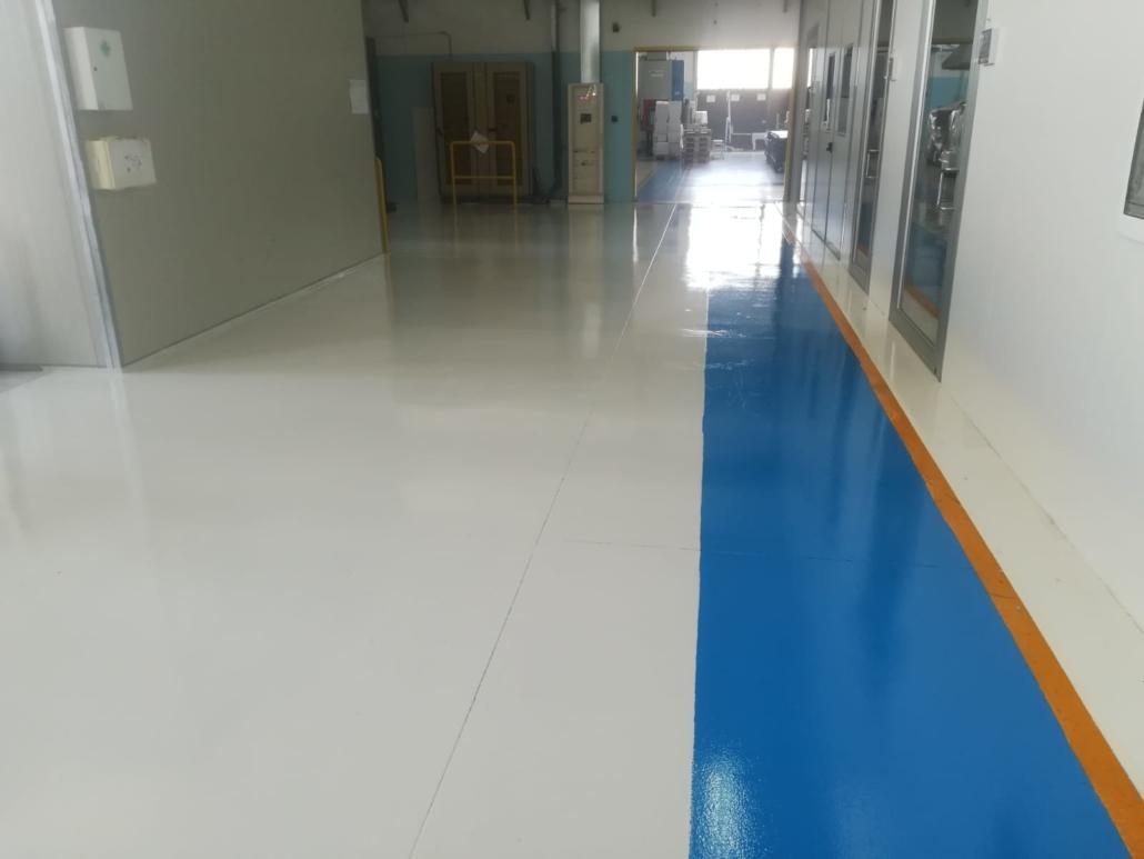 Pavimento in Resina Poliuretanica - Imperflex