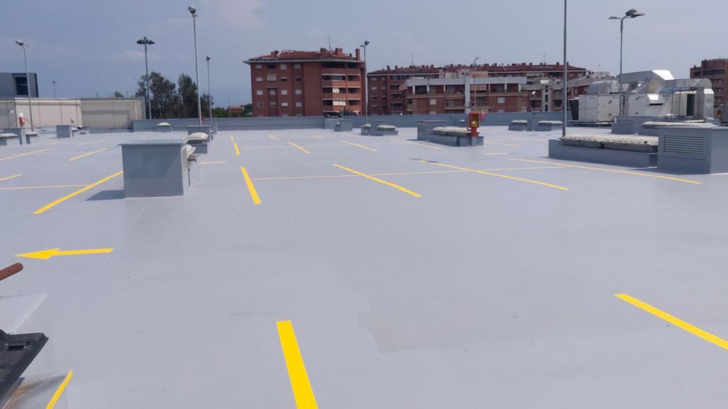 impermeabilizzazione carrabili per parcheggi con poliurea